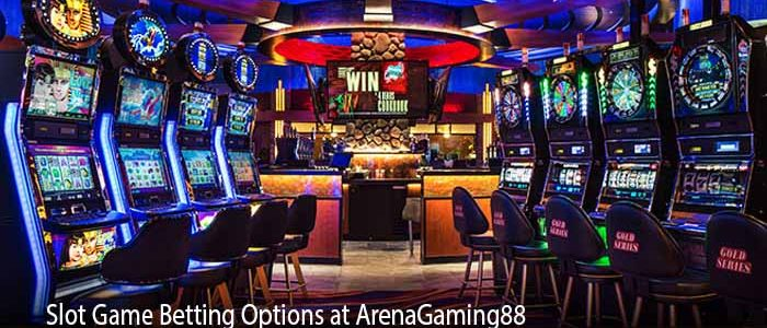 Slot Game Betting Options at ArenaGaming88